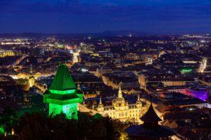 Uhrturm (c) Graz Tourismus - Harry Schiffer