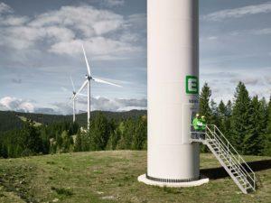 In der Erzeugung setzt die Energie Steiermark ausschließlich auf Erneuerbare Energie.  When it comes to energy production, Energie Steiermark fully commits to renewable energy sources.